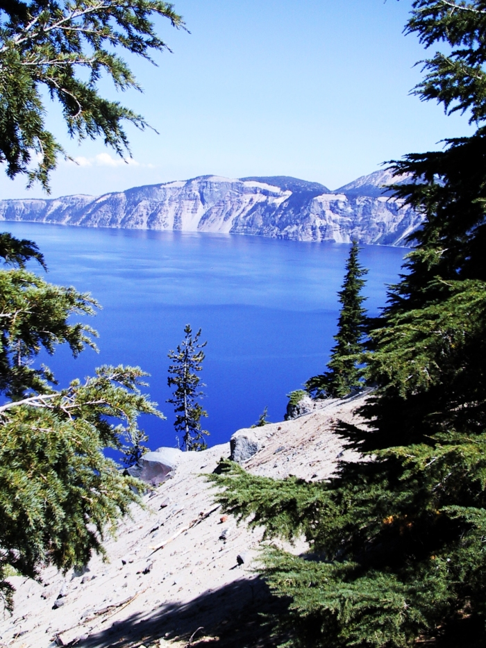 Crater Lake by HastyWords