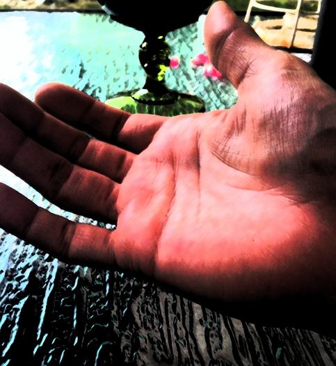Sage hand