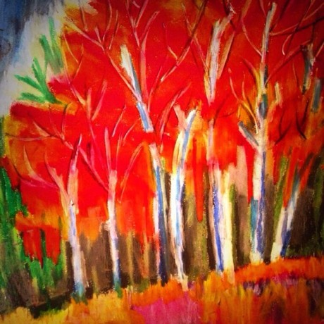 Vivid Trees by Hastywords